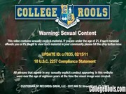 Frat Guys Jizz on These Hot College Sluts – CollegeRools.com